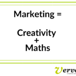 Marketing equals Creativity plus Maths