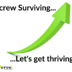 screw surviving, lets get thriving